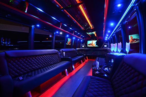 40 Passenger Party Bus Rental Ontario